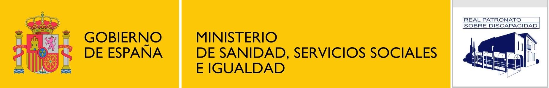 Logotipo del Real Patronato sobre Discapacidad. Abre ventana nueva.